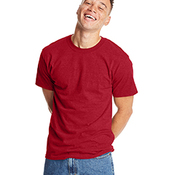 Hanes Beefy T 100% Cotton T-shirt Unisex Short Sleeve