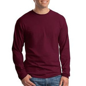 Hanes Beefy T 100% Cotton Long Sleeve T Shirt